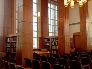 Rehm Library, Smith Hall, College of the Holy Cross