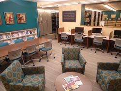 Newly renovated Paddock Music Library