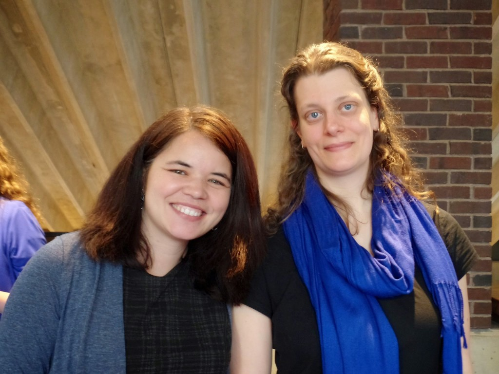 Zoe Rath and Kerry Masteller; photo by Erica Charis